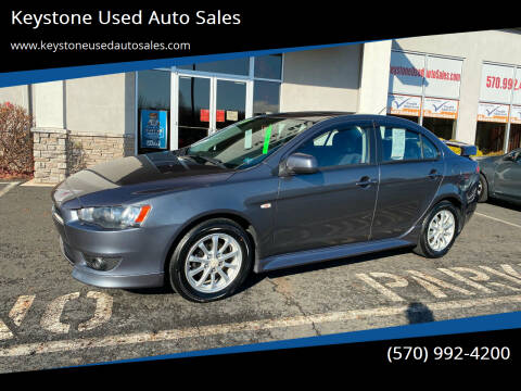 2010 Mitsubishi Lancer for sale at Keystone Used Auto Sales in Brodheadsville PA