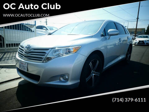 2010 Toyota Venza for sale at OC Auto Club in Midway City CA