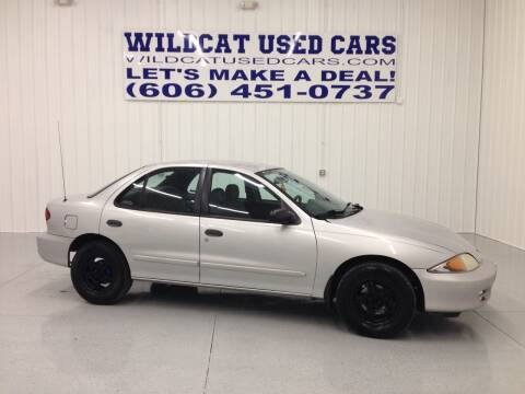 2001 Chevrolet Cavalier for sale at Wildcat Used Cars in Somerset KY