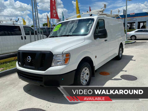 2016 Nissan NV Cargo for sale at Navarro Auto Motors in Hialeah FL