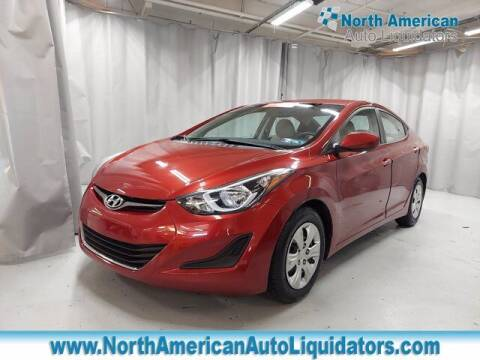 2016 Hyundai Elantra for sale at North American Auto Liquidators in Essington PA