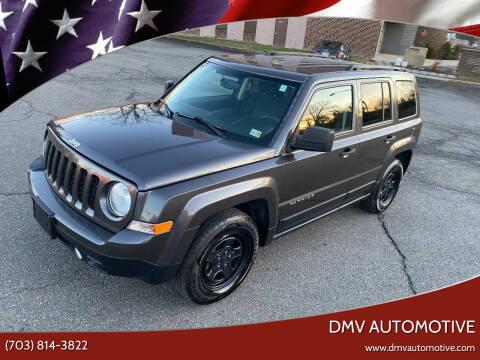2016 Jeep Patriot for sale at DMV Automotive in Falls Church VA