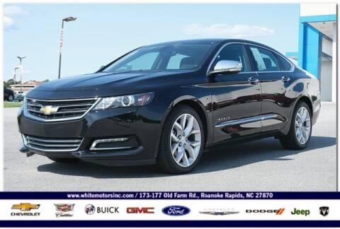 2020 Chevrolet Impala for sale at WHITE MOTORS INC in Roanoke Rapids NC