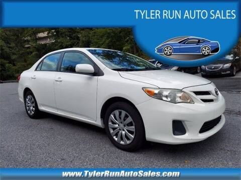 2012 Toyota Corolla for sale at Tyler Run Auto Sales in York PA