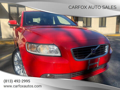 2010 Volvo S40 for sale at Carfox Auto Sales in Tampa FL