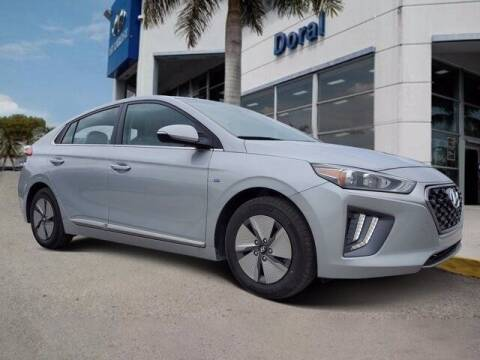 2020 Hyundai Ioniq Hybrid for sale at DORAL HYUNDAI in Doral FL