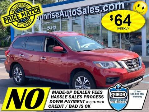 2017 Nissan Pathfinder for sale at AUTOFYND in Elmont NY