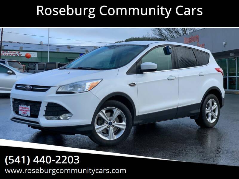 2015 Ford Escape for sale at Roseburg Community Cars in Roseburg OR