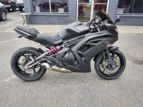 2012 Kawasaki Ninja 650R for sale at Goodfella's  Motor Company in Tacoma WA