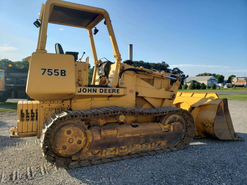 John Deere 755B Track Loader for sale at Vehicle Network - Down Home Truck and Equipment in Warsaw VA