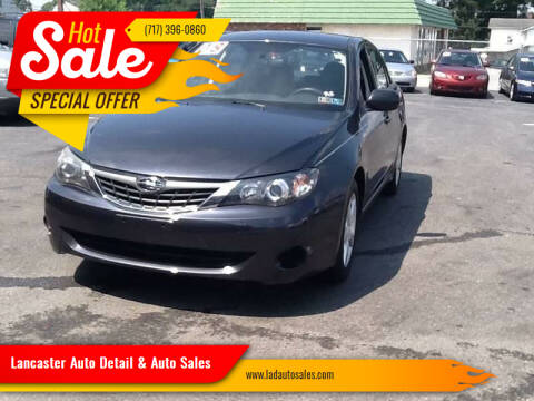 2008 Subaru Impreza for sale at Lancaster Auto Detail & Auto Sales in Lancaster PA