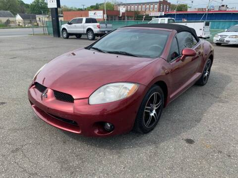 2007 Mitsubishi Eclipse Spyder for sale at LINDER'S AUTO SALES in Gastonia NC