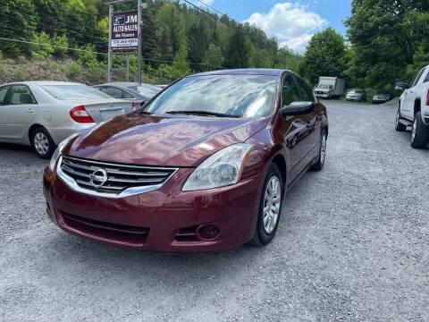 2012 Nissan Altima for sale at JM Auto Sales in Shenandoah PA