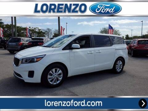 2017 Kia Sedona for sale at Lorenzo Ford in Homestead FL