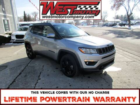 2021 Jeep Compass for sale at West Motor Company in Preston ID