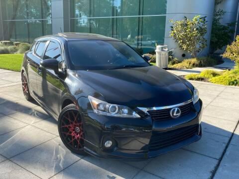 2013 Lexus CT 200h for sale at Top Motors in San Jose CA