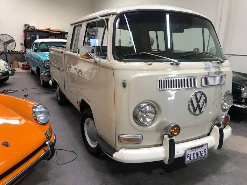 1968 Volkswagen Quad Transporter for sale at HIGH-LINE MOTOR SPORTS in Brea CA