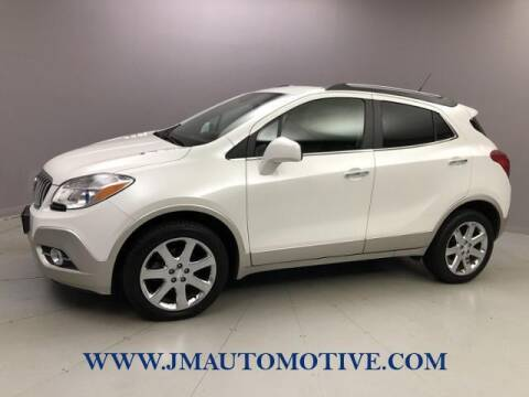 2013 Buick Encore for sale at J & M Automotive in Naugatuck CT