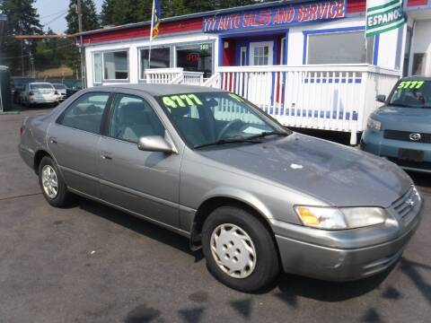 1999 Toyota Camry for sale at 777 Auto Sales and Service in Tacoma WA
