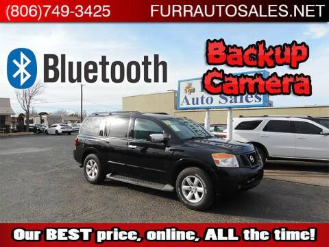2012 Nissan Armada for sale at FURR AUTO SALES in Lubbock TX