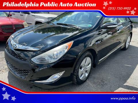 2011 Hyundai Sonata Hybrid for sale at Philadelphia Public Auto Auction in Philadelphia PA