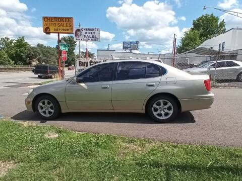 2001 Lexus GS 300 for sale at Cherokee Auto Sales in Knoxville TN