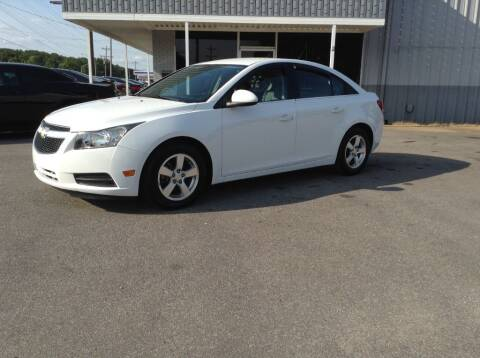 2014 Chevrolet Cruze for sale at Darryl's Trenton Auto Sales in Trenton TN