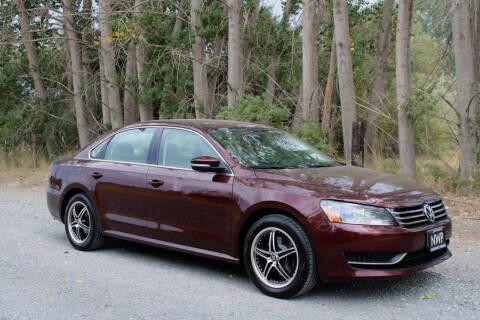2013 Volkswagen Passat for sale at Northwest Premier Auto Sales in West Richland WA