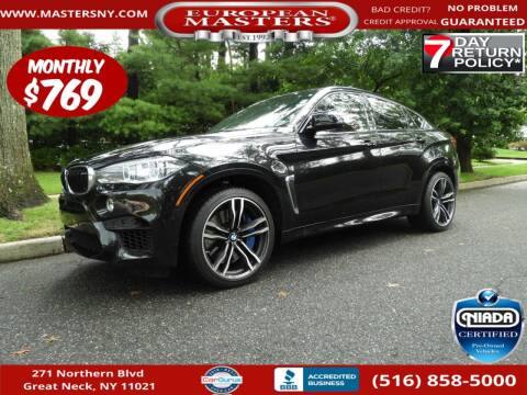 2019 BMW X6 M for sale at European Masters in Great Neck NY