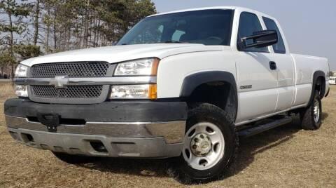 2003 Chevrolet Silverado 2500HD for sale at MATTHEWS AUTO SALES in Elk River MN