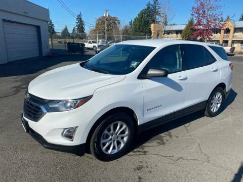 2018 Chevrolet Equinox for sale at TacomaAutoLoans.com in Tacoma WA