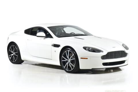 2011 Aston Martin V8 Vantage for sale at Motorcar Classics in Farmingdale NY