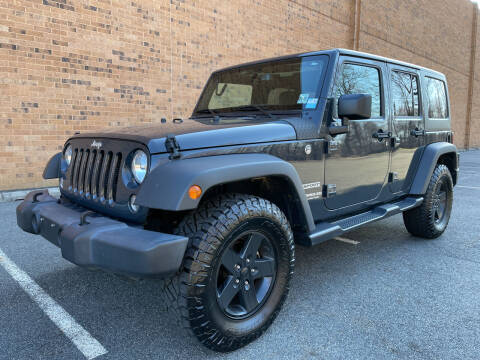 2017 Jeep Wrangler Unlimited for sale at Vantage Auto Wholesale in Lodi NJ