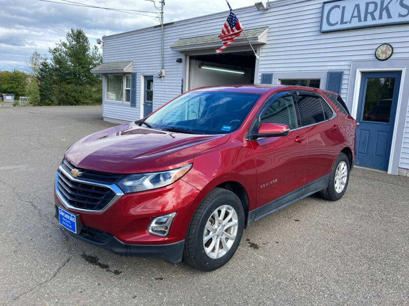 2018 Chevrolet Equinox for sale at CLARKS AUTO SALES INC in Houlton ME