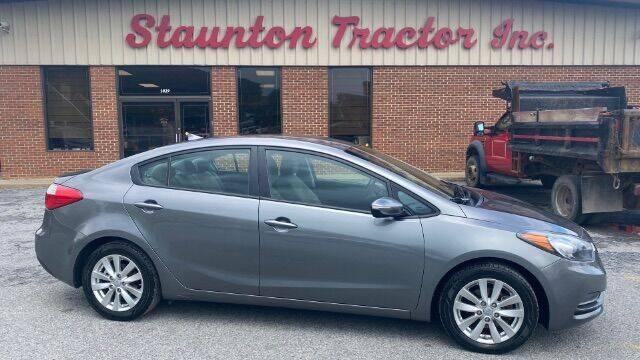 2016 Kia Forte for sale at STAUNTON TRACTOR INC in Staunton VA