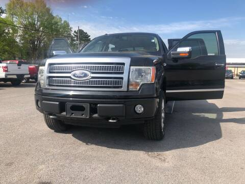 2010 Ford F-150 for sale at Morristown Auto Sales in Morristown TN