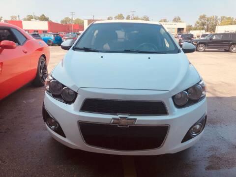 2013 Chevrolet Sonic for sale at Daniel Auto Sales inc in Clinton Township MI