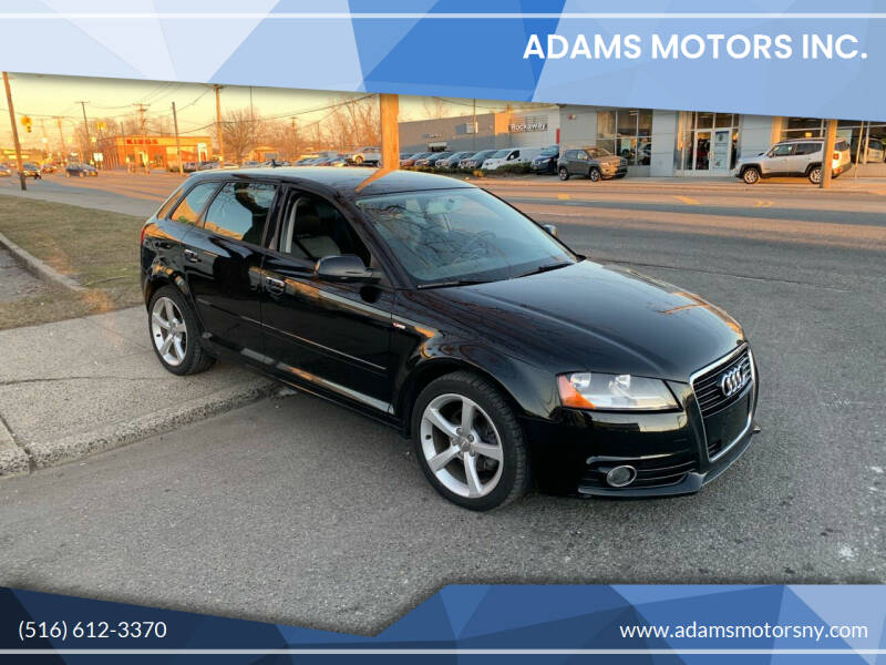 2011 Audi A3 for sale at Adams Motors INC. in Inwood NY