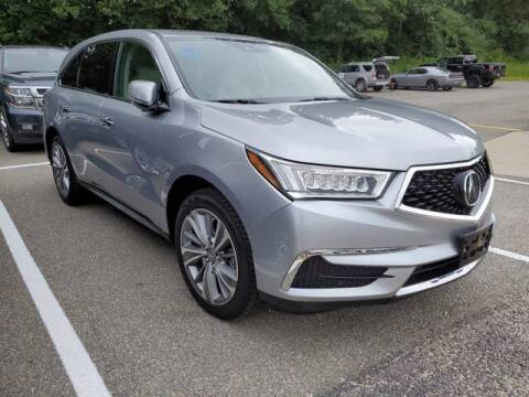 2017 Acura MDX for sale at Strosnider Chevrolet in Hopewell VA
