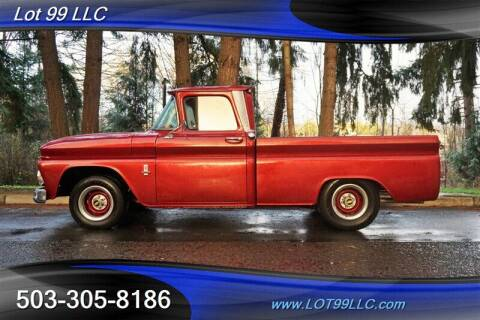 1963 Chevrolet C/K 10 Series for sale at LOT 99 LLC in Milwaukie OR