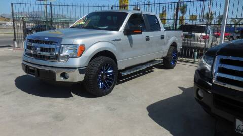 2013 Ford F-150 for sale at Luxor Motors Inc in Pacoima CA