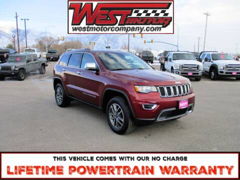 2019 Jeep Grand Cherokee for sale at West Motor Company in Hyde Park UT