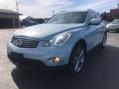 2011 Infiniti EX35 for sale at Mike's Budget Auto Sales in Cadillac MI