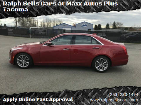 2018 Cadillac CTS for sale at Ralph Sells Cars at Maxx Autos Plus Tacoma in Tacoma WA