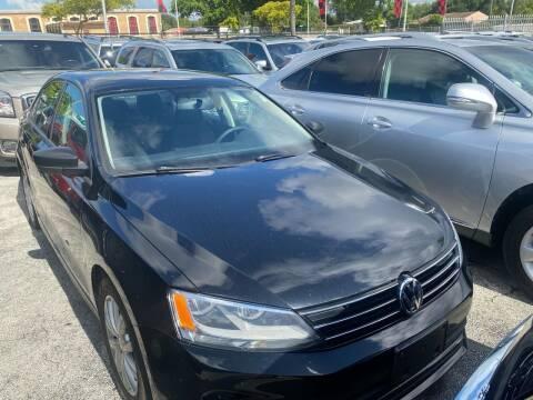 2015 Volkswagen Jetta for sale at America Auto Wholesale Inc in Miami FL