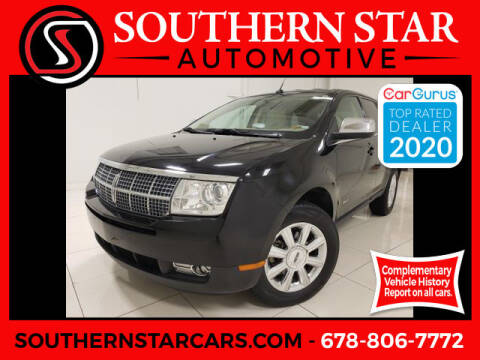 2007 Lincoln MKX for sale at Southern Star Automotive, Inc. in Duluth GA