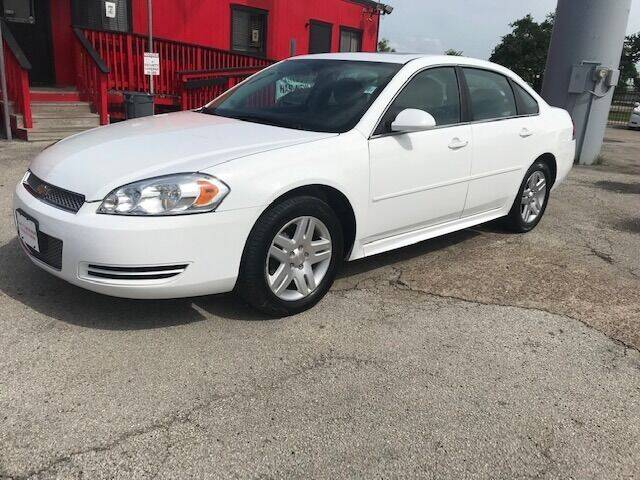 2015 Chevrolet Impala Limited for sale at Talisman Motor City in Houston TX