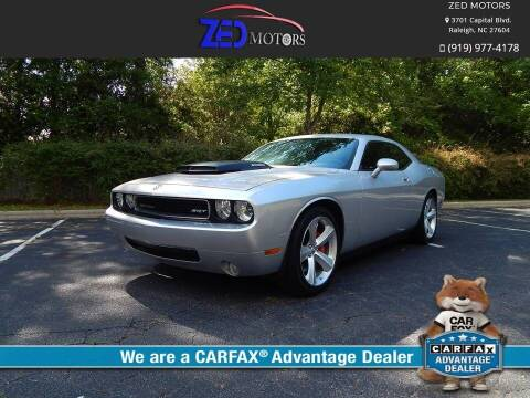 2010 Dodge Challenger for sale at Zed Motors in Raleigh NC