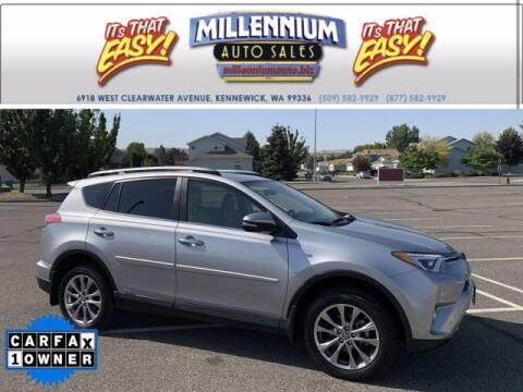 2018 Toyota RAV4 Hybrid for sale at Millennium Auto Sales in Kennewick WA