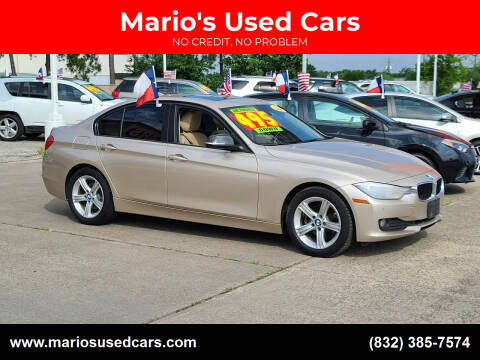 2015 BMW 3 Series for sale at Mario's Used Cars in Houston TX